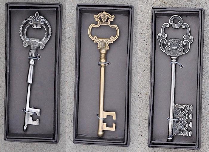 elegant key bottle opener golden openings. Black Bedroom Furniture Sets. Home Design Ideas