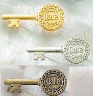 Key Lapel Pin