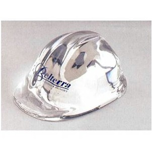 Lucite Hard Hat Award