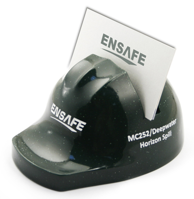 Hard Hat Card Holder