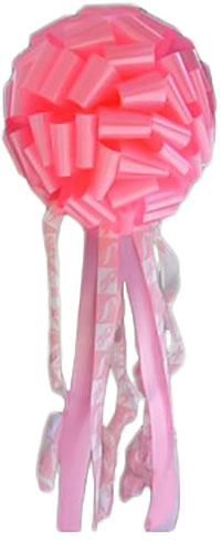 14 inch Amazing Pink Bows
