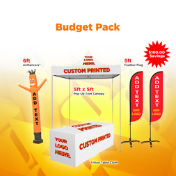 Outdoor Visibility Get Noticed Advertising Budget Kit