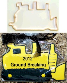 Industrial Bull Dozer Cookie Cutter