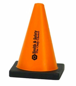 Safety Cone Stress Toy