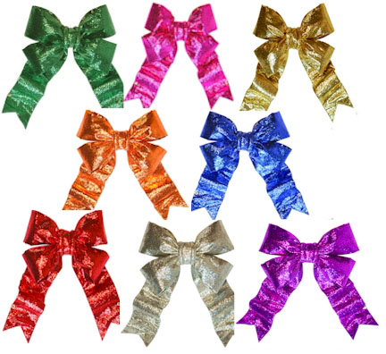 3-D Sparkle Bling Bow
