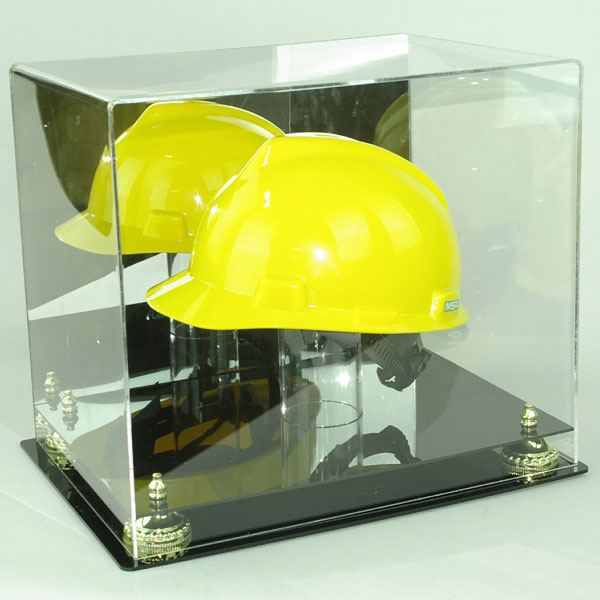 Acrylic Hard Hat Display Case