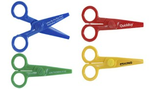 Custom Plastic Mini Scissors