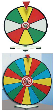 Spin It Economy Table Top Dry Erase Prize Wheel