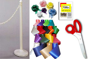 RENTAL Ribbon Cutting Kit