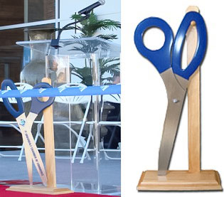 Display Stand for 3 Foot Ceremonial Scissors