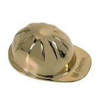 Brass Hard Hat Paperweight
