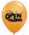 Open House Latex Balloons - Std 11 inch