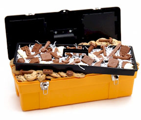 Giant Chocolate Tool Box