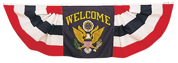 Welcome Bunting Banner