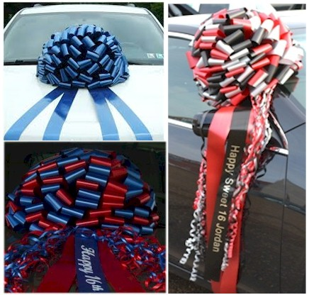 Giant Satin Car Gift Bow
