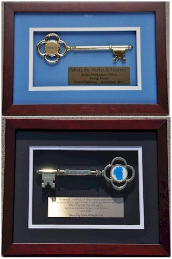 Custom Key Shadowbox