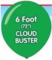 Cloudbuster Giant Balloon - 6 Foot (72 inch)