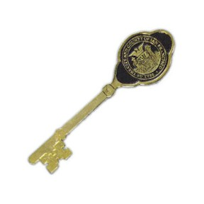 7 Inch Ceremonial Metal Cast Key