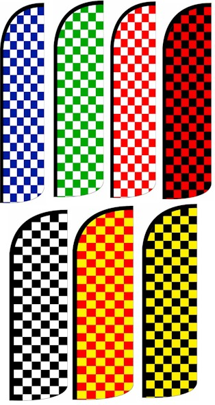 15 Foot Checkered Flag Kits
