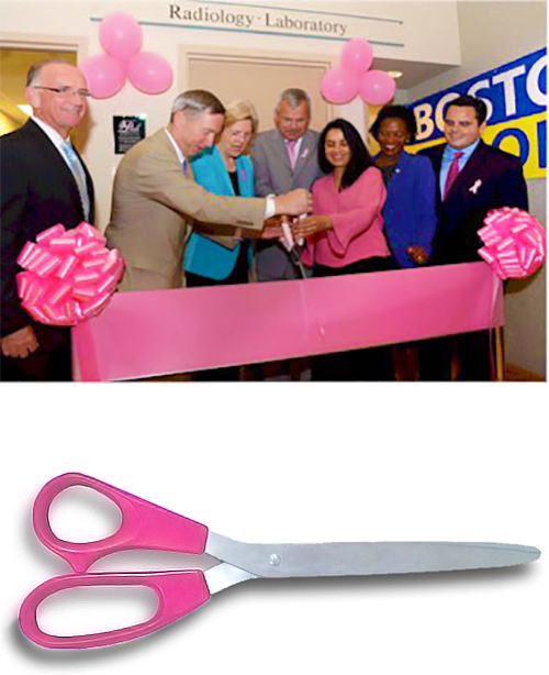 25 Inch Breast Cancer Pink Scissors