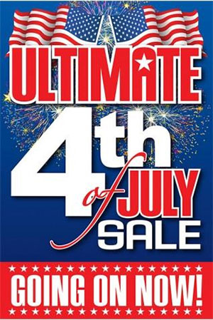 Red White and Blue 4th of July Sale Kit
