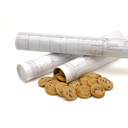 Architectural Design Cookie Container