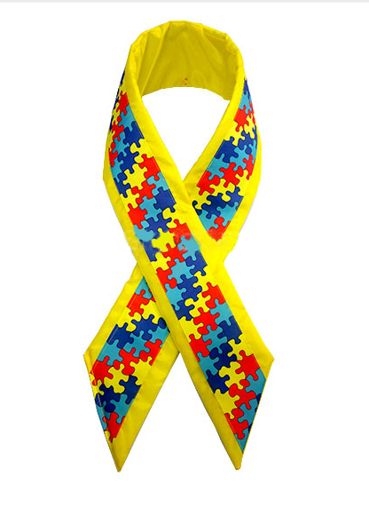 Giant Autism Awareness Loop