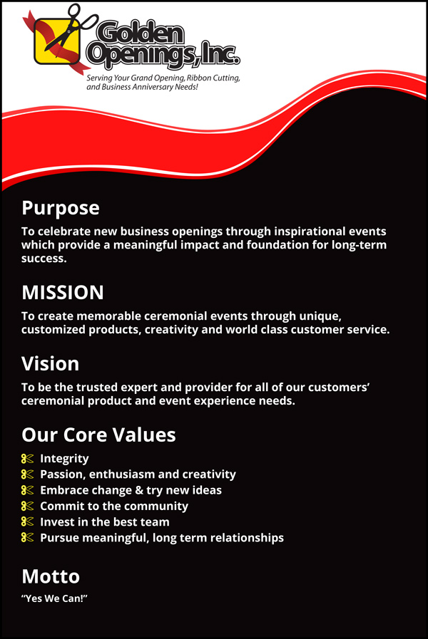Golden Openings Core-Values