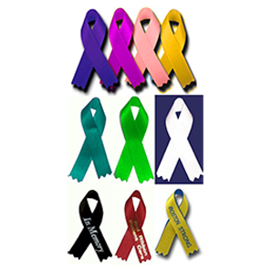 Custom Awareness Ribbons