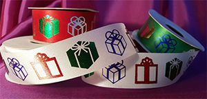 Custom Printed Christmas Ribbon