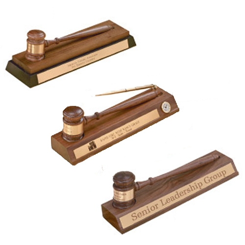 Gavel Desk Accessory Displays