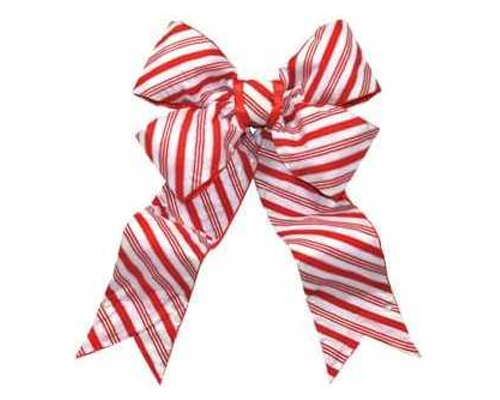 Giant 60 inch Candy Cane Striped Bow