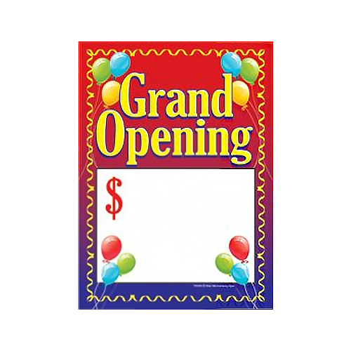 Grand Opening Price Tags