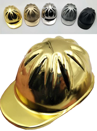 Custom Recycled Hard Hat - Golden Openings