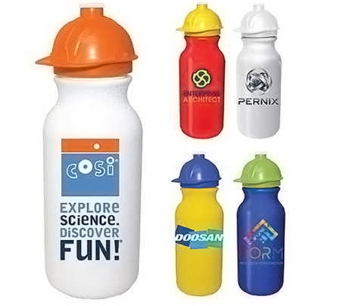 Hard Hat Water Bottle