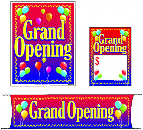 Grand Opening Price Tag Kit