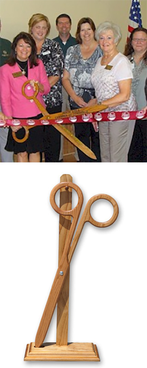 Solid Oak Scissors