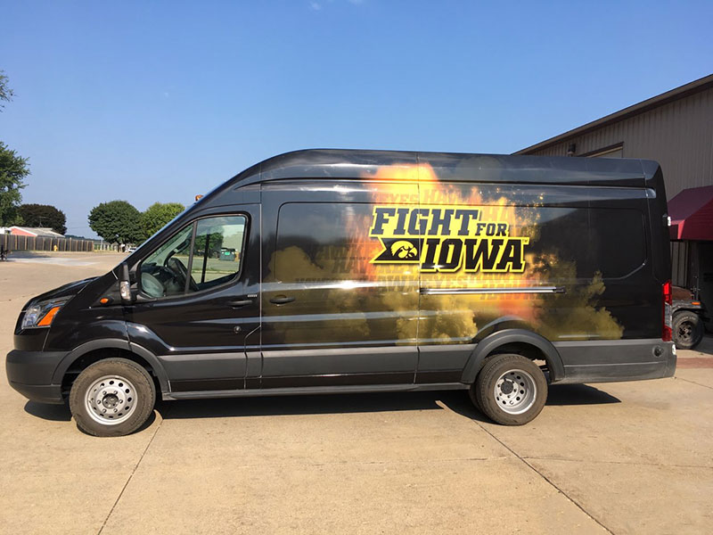School Spirit Vehicle Graphics