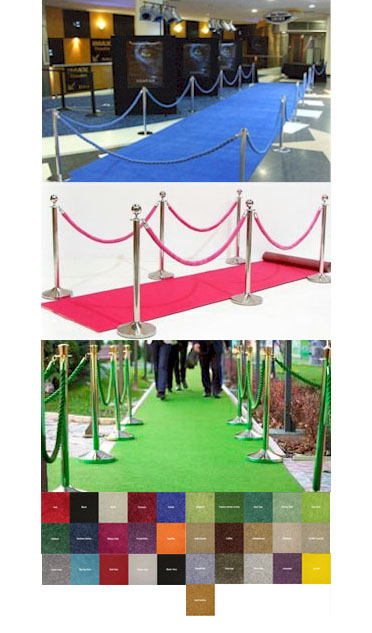 Event Carpet Runners All Colors