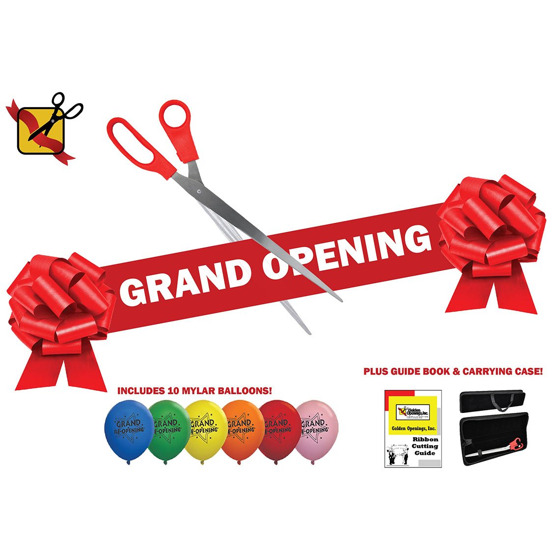Grand Opening Kit with Balloons