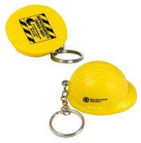 Hard Hat Stress Keychain