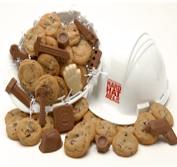 Hard Hat Chocolate Treat Kit