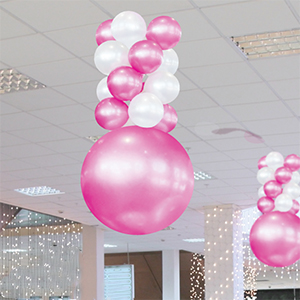4-Layer Reusable Balloon Ceiling Tower Kit