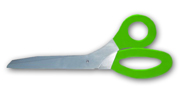 Giant Scissors Rental - Lime Green