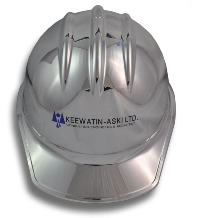 Metallic Chrome Plated Ceremonial Hard Hat