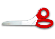 Giant Scissors Rental - Red