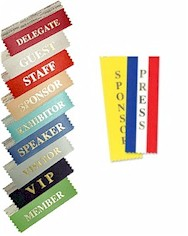 Stock Nametag Ribbons