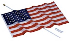 U.S. Flag Kit with Nylon Flag
