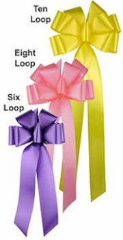 Large Awareness Ribbon Bows