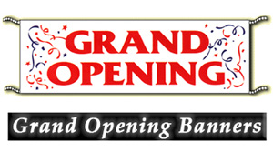 Grand Opening Banners - Products